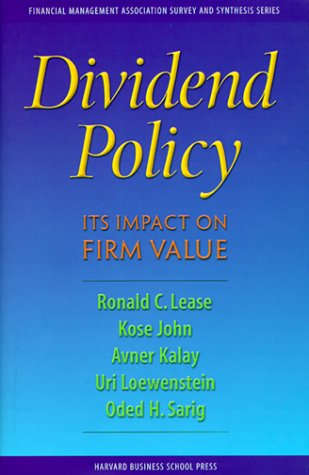 dividend policy and its impact on How do dividend policy decisions affect a firm's stock price, is a widely researched topic in the field of investments and finance but still it remains a myster.